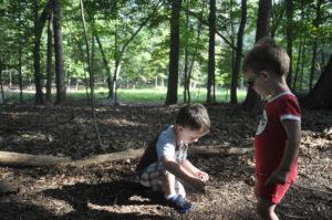 Children enjoying the SNC trails