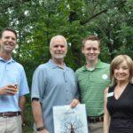 Troy Mayor with Sponsors